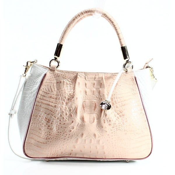 f1682cb3111f Shop Brahmin NEW Beige Patent Melbourne Ruby Akoya Anywhere Satchel ...