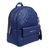 Versace EE1VSBBZ7 E239 Blue Backpack - 9.5-11-5.5