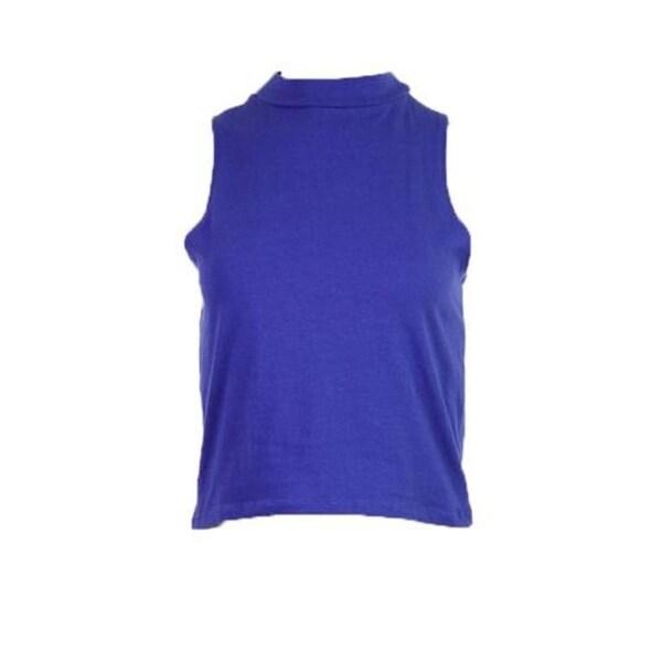 Energie Womens Juniors Crop Top Sleeveless Knit