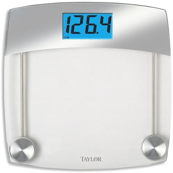 taylor 75244192 digital bathroom scale gray - Taylor Bathroom Scales