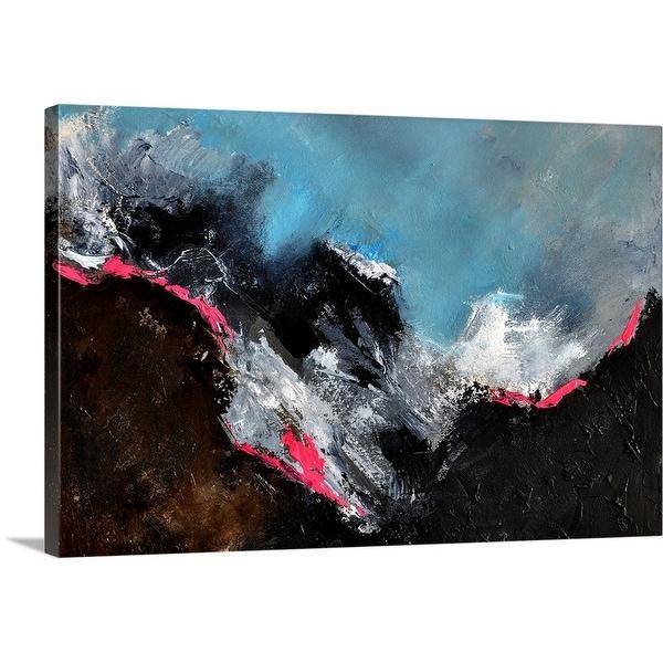 """Abstract 0860"" Canvas Wall Art"