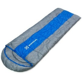 Winterial Sleeping Bag Adult Size / Comfortable / Portable / Camping / Backpacking / Hiking|https://ak1.ostkcdn.com/images/products/is/images/direct/5a122e0c625e3965e7819632d9b942e854f285f4/Winterial-Sleeping-Bag-Adult-Size---Comfortable---Portable---Camping---Backpacking---Hiking.jpg?_ostk_perf_=percv&impolicy=medium