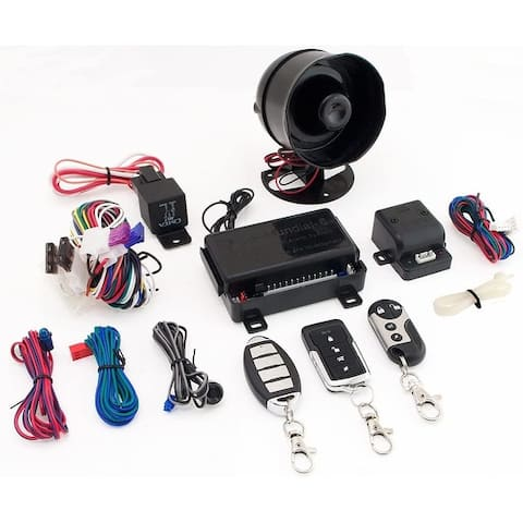 Excalibur Alarms, Mundial-6 1-Way Security System - Black
