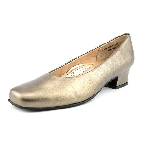Mark Lemp By Walking Cradles Callie Women Pewter Pumps