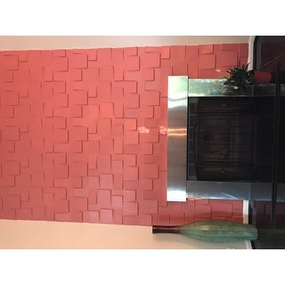 3D Cubes 10-piece Wall Panel Set