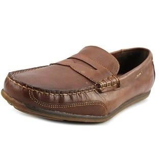 Chaps Talman Men Leather Brown Moccasins