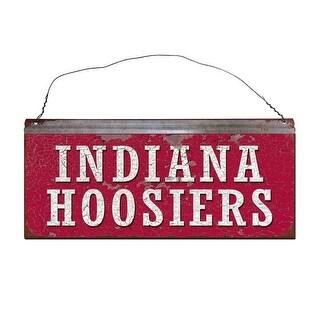 Indiana University Hoosiers Small Tin Sign