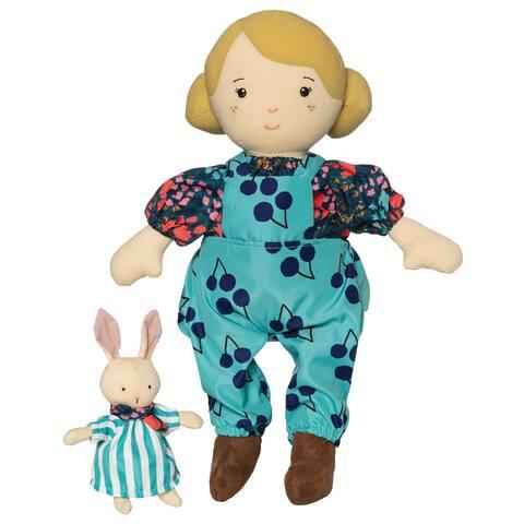 Ollie 14 Inch Doll with Companion Stuffed Animal