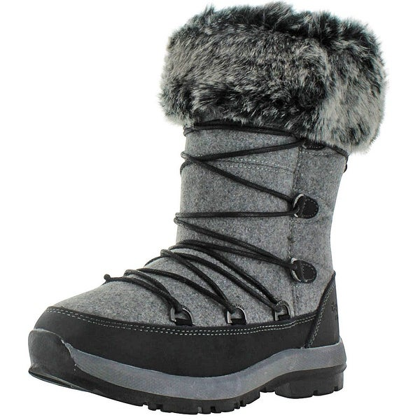 Bearpaw Leslie Women's Waterproof Sheepskin Snow Boots