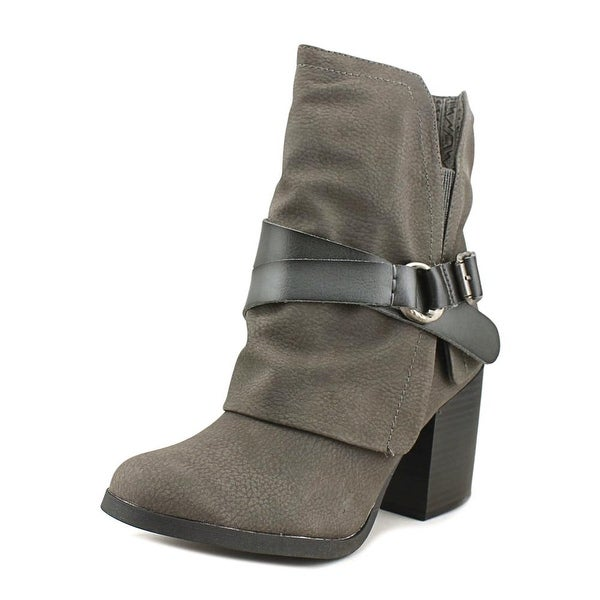 Blowfish Dazzy Women Round Toe Synthetic Gray Ankle Boot