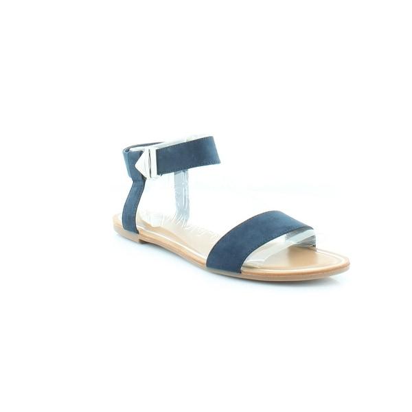 Bar III Victor Women's Sandals & Flip Flops Navy - 9.5