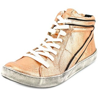 Matisse Alva Women Round Toe Canvas Gold Sneakers