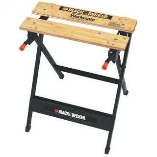 Black & Decker WM125 Workmate Portable Project Center & Vise, 350 lbs Capacity