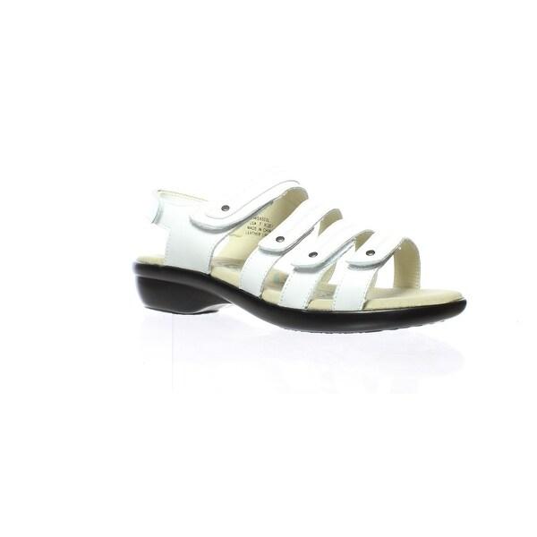 47c8980f86f4 Shop Propet Womens Aurora White Sandals Size 7 (2E) - Free Shipping ...