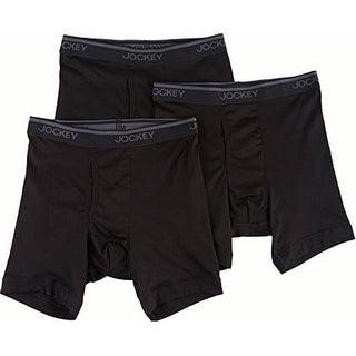 Jockey Men's 3-pk. Staycool Midway Boxer Briefs, 8853