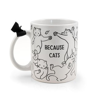 Link to Because Cats Coffee Mug  Similar Items in Dinnerware
