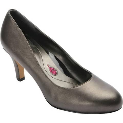 Ros Hommerson Women's Janet Pump Pewter Leather