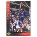John Battle Cleveland Cavaliers 1993 Upper Deck Autographed Card Nice Card This item comes with a