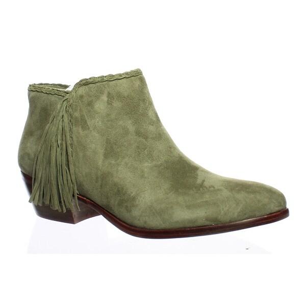 c52497a3199a Shop Sam Edelman Womens Paige Moss Green Booties Size 6.5 - Free ...