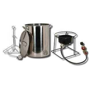 King Kooker #SS1267-30 Qt. Stainless Steel Turkey Fryer Pkg - SS1267