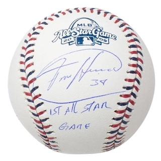 Felix Hernandez Signed 09 All Star Baseball 1st All Star Game Insc Free Cube JSA