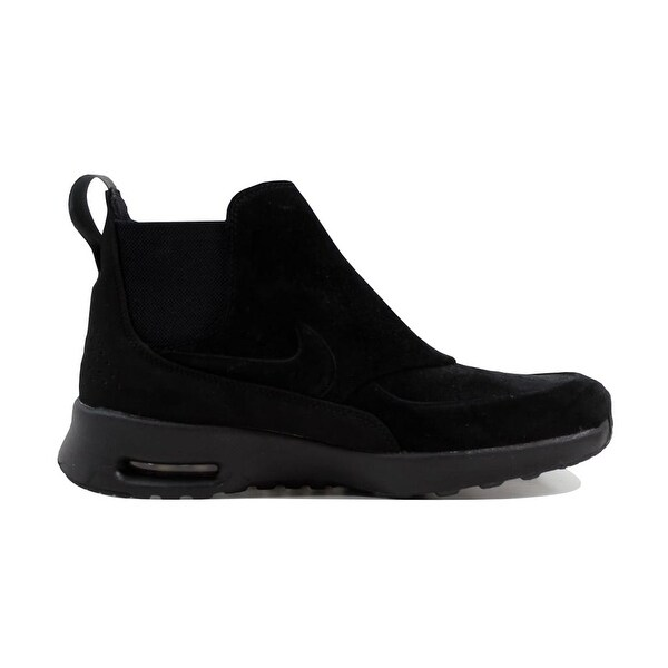 Shop Nike Women's Air Max Thea Mid BlackBlack Metallic