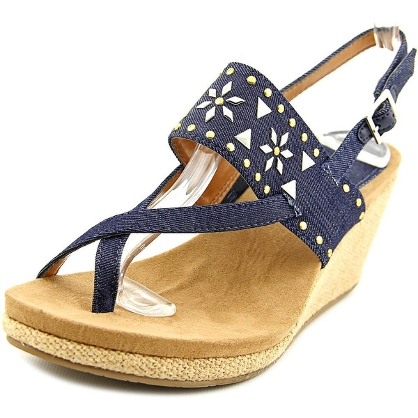 Style & Co Jazzmin Women Indigo Sandals