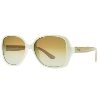 Salvatore Ferragamo SF715/S 107 Ivory Square Sunglasses