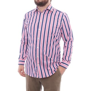 Eton Long Sleeve Collared Button Down Men Regular Casual