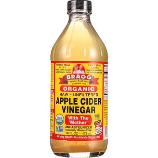 Bragg - Organic Raw Unfiltered Apple Cider Vinegar ( 3 - 16 FZ)