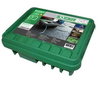 SOCKiT BOX Weatherproof Powercord Connection Box 330, Green