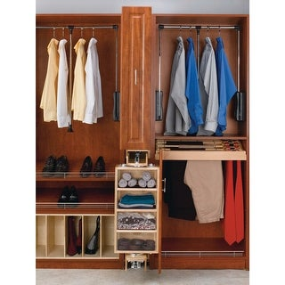 Rev-A-Shelf CAS-081636-1 CA Series 8 x 16 x 36.25 Inch Closet Storage Armoire - N/A