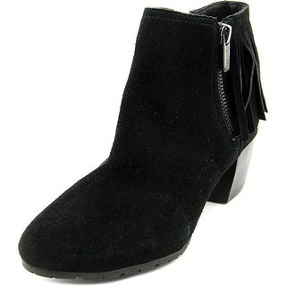 Kenneth Cole Reaction Pil-ates Women  Round Toe Suede  Ankle Boot