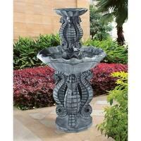 Design Toscano  Spirit of the Ocean Two-Tier Seahorse Fountain
