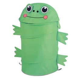 Frog Design Kiddie Pop up Hamper
