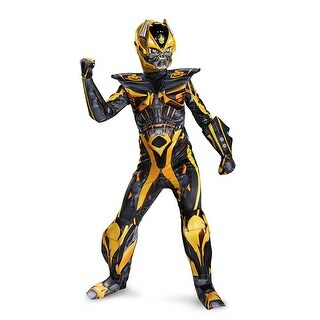 Boys Bumblebee Transformers Prestige Halloween Movie Costume