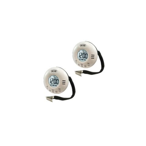 Clarity WakeAssure Jolt 95657.101 Vibrating Alarm Clock (2 Pack)