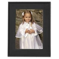 Black Flat Wood 8x10 Picture Frame