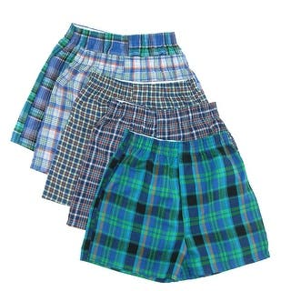 Fruit of the Loom Boy's Tartan Plaid Woven Boxer Underwear (Pack of 5) (Option: Large)|https://ak1.ostkcdn.com/images/products/is/images/direct/5a25e5887a9c477cc2ca7e9adbfd9c91d1601be5/Fruit-of-the-Loom-Boy%27s-Tartan-Plaid-Woven-Boxer-Underwear-%28Pack-of-5%29.jpg?impolicy=medium
