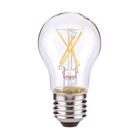 5 Watt A15 LED Clear Medium base 2700K 120 Volt Carded