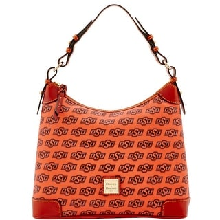 Dooney & Bourke NCAA Oklahoma State Hobo (Introduced by Dooney & Bourke at $218 in Jul 2015) - Orange