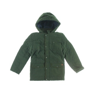 French Connection Boys Hooded Coat - 7