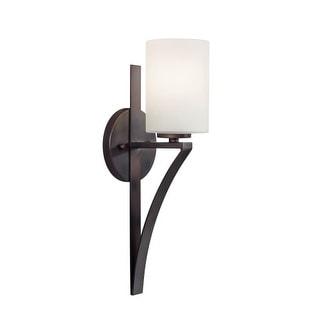 "Forte Lighting 2582-01 Single Light 16-3/4"" High Wall Sconce"