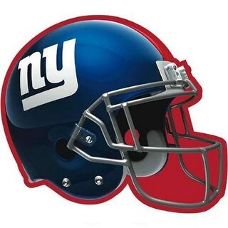 Amscan 192344 New York Giants Paper Cut-Out, 12 in. - Pack of 6