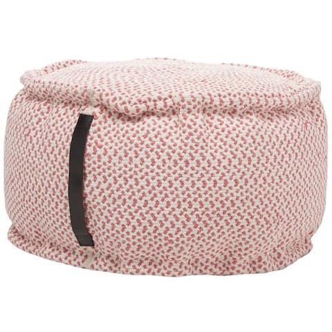 "Mina Victory Outdoor Pillows Pouf, ( 20"" x 20"" x 12"" )"