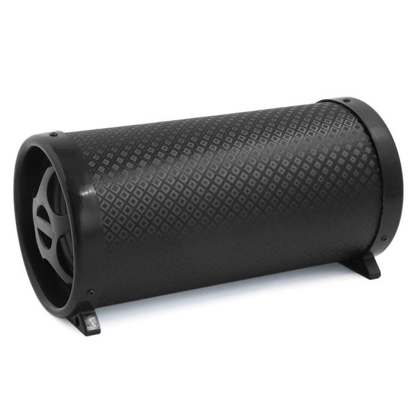 Unique Bargains 5.7 Inches Dia Tube Bass Cylinder Subwoofer for Motorcycle Vehicle
