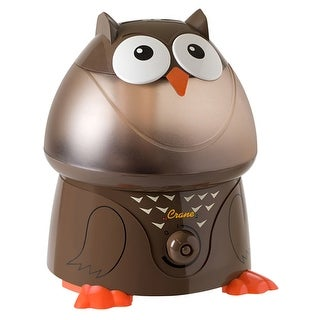 Crane EE-8189 Owl Ultrasonic Cool Mist Humidifier - brown