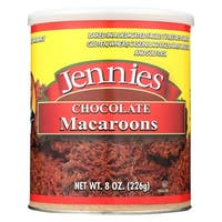 Jennie's Chocolate Macaroon - Chocolate - Case of 12 - 8 oz.