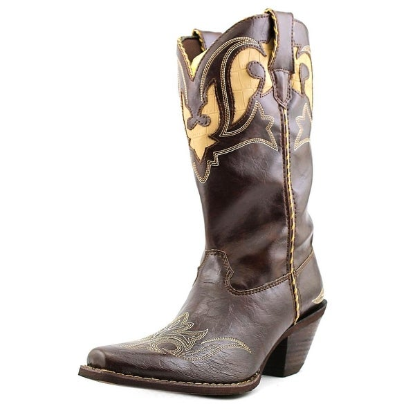Durango RD5523 Women  Pointed Toe Leather  Western Boot