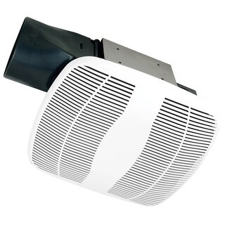 Air King BFQ50W 50 CFM 0.8 Sone Wall Mounted Snap-In Energy Star Rated Exhaust F